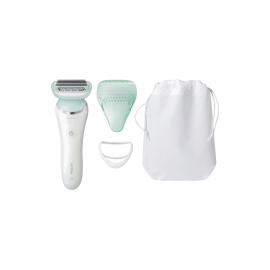 Philips BRL160 Satin Shave Ladyshave Wit/Bauw