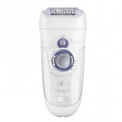 Braun Silk épil 7 - 7921 Skin Spa - Epilator, Wet & Dry, Peeling Borstel