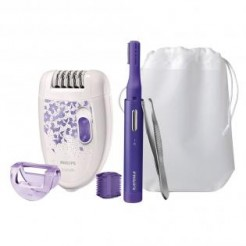 Philips HP6543/00 Young Beauty 3 in 1 - Epileer-Set