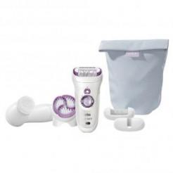 Braun Skin Spa 9 - 969 wet&dry - Epilator + Gezichtsreinigingsborstel